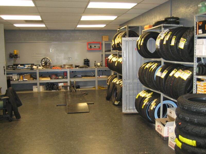 We Stock Tires & Oil!